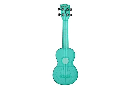 Kala Waterman Soprano Ukulele (Florescent Blue Raspberry)