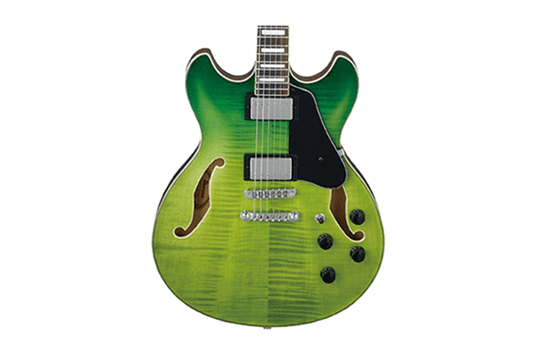 Ibanez AS Artcore AS73FM - Green Valley Gradation