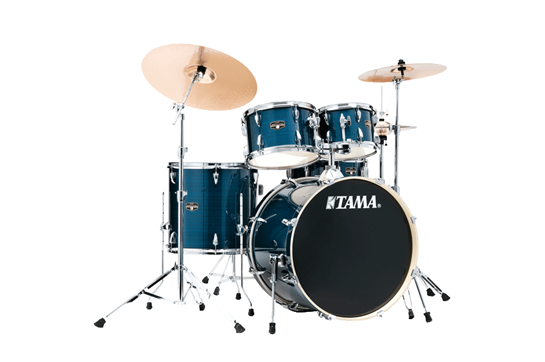 Tama Imperialstar Drum Set (Hairline Blue)