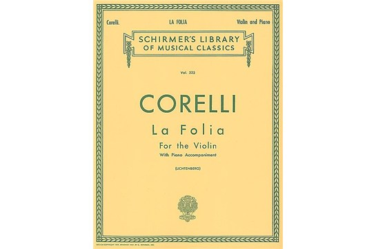 La Folia Variations for Violin