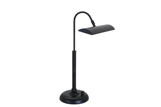 House of Troy Zenith Ledz Piano/Desk Lamp - Black