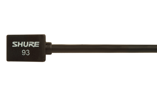 Shure WL93 Omni-Lav Microphone