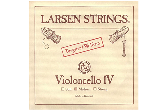 Larsen Cello String Chromesteel Series (C, Tungsten, Medium)