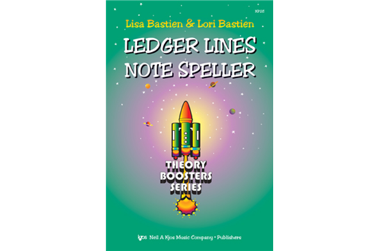Bastien Theory Boosters: Ledger Lines Note Speller