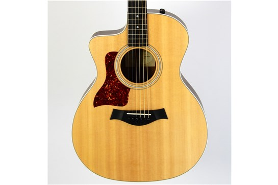 Used Taylor 214CE Lefty Acoustic/Electric w/ OHSC & Case Candy 2009 Natural