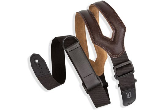 Levy's Garment Leather Right Height Strap - Dark Brown