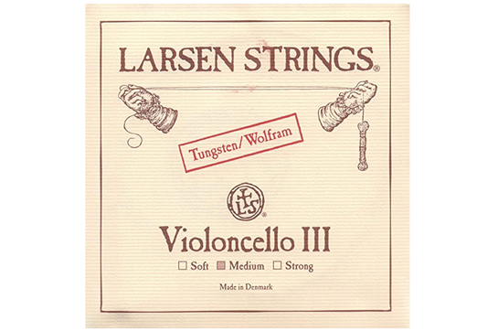 Larsen Cello String Chromesteel Series (G, Tungsten, Medium)