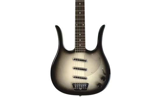 Danelectro Guitar Longhorn reissue - Greyburst