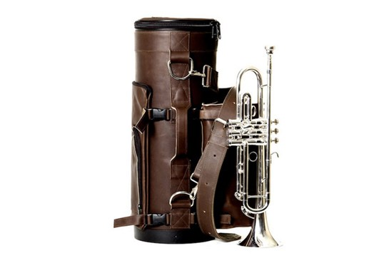 Torpedo Bag Loredo Trumpet - Chocolate Brown