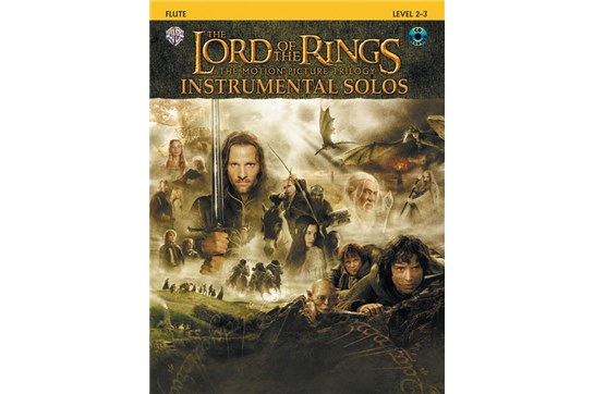 The Lord of the Rings Instrumental Solos Book and CD (Flute)