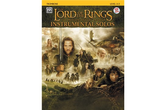 The Lord of the Rings Instrumental Solos Book and CD (Trombone)