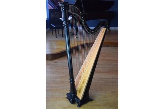 Lyon & Healy Prelude 40 Lever Harp - Ebony