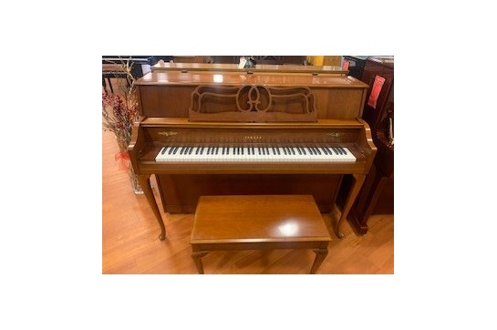 1996 Yamaha M500QA Console Piano - Cherry