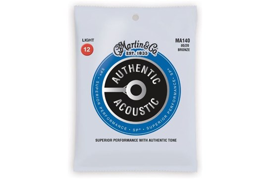 Martin Authentic Acoustic  Light Guitar Strings
