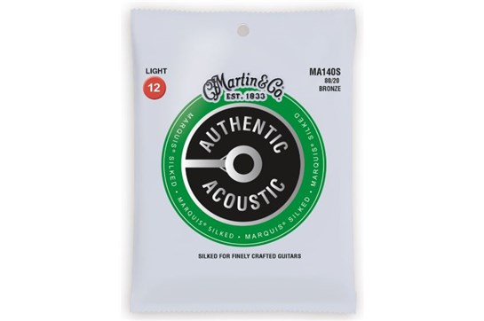 Martin Authentic Acoustic Marquis Light Guitar Strings