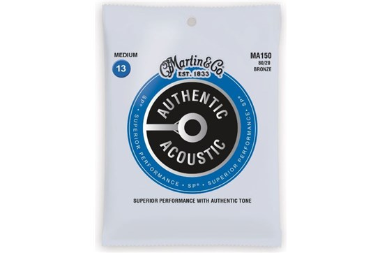 Martin Authentic Acoustic  Medium Guitar Strings