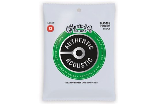 Martin Authentic Acoustic Marquis Light Phosphor Bronze Guitar Strings