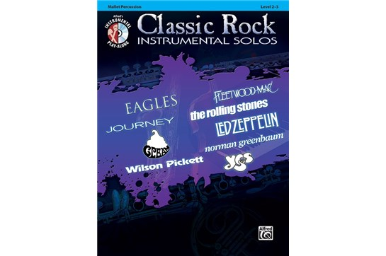 Classic Rock Instrumental Solos for Mallets