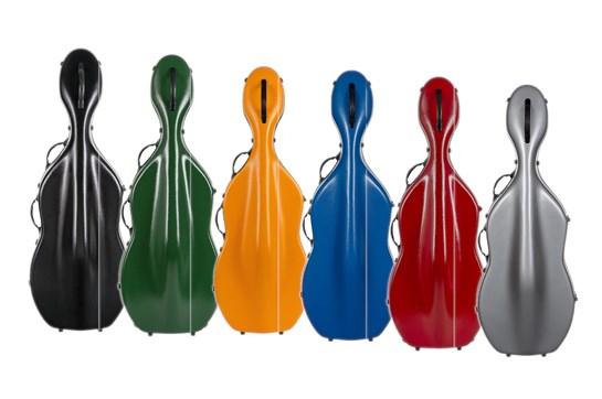 Tonareli Fiberglass Cello Case
