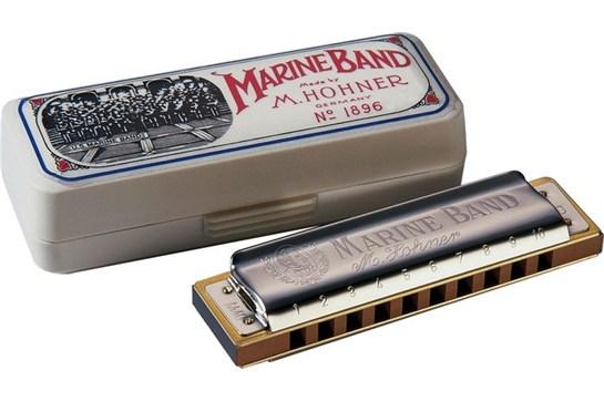 Hohner 1896 Marine Band Harmonica