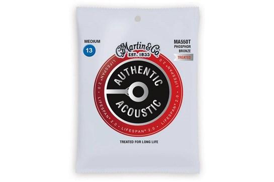 Martin Authentic Acoustic Lifespan 92/8 Medium Guitar Strings .013-.056