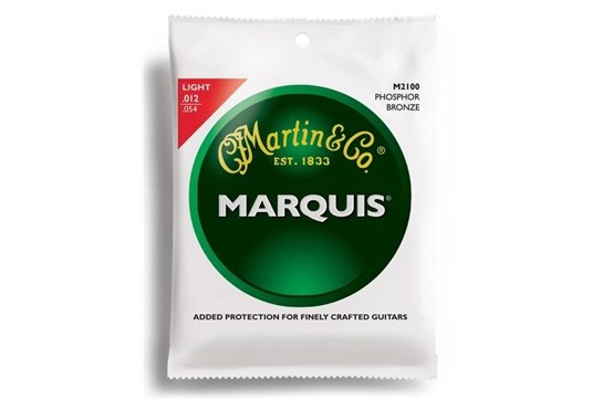 Martin M2100 Marquis 92/8 Phosphor Bronze Light Guitar Strings