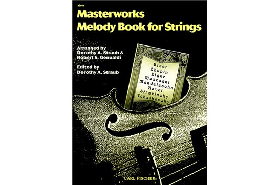 Masterworks Melody Book for Viola