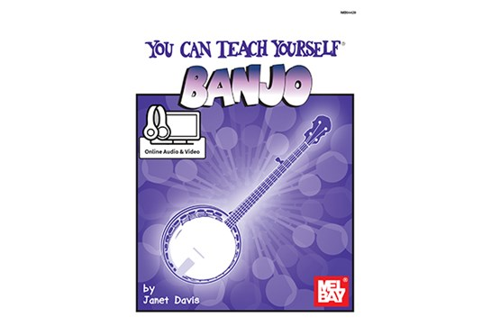 You Can Teach Yourself Banjo w/Online Access
