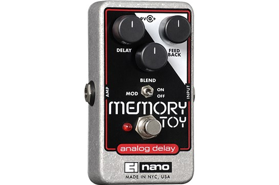Electro-Harmonix Memory Toy Analog Delay Guitar Effects Pedal