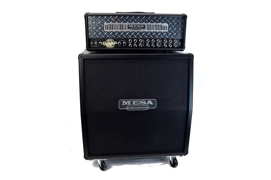Used 2013 Mesa Boogie Dual Rectifier Head w/Slant Cabinet (road case for amp)