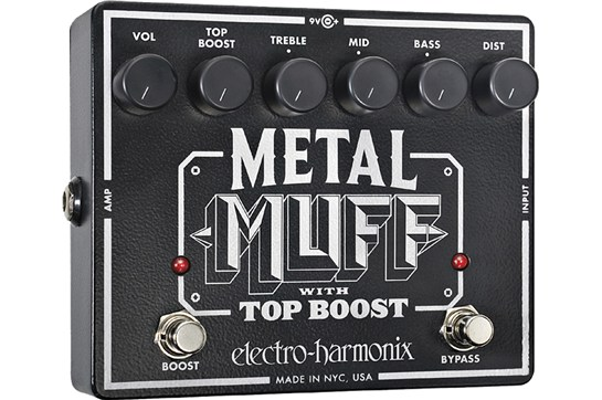 Electro-Harmonix Metal Muff Top Boost Distortion Guitar Effects Pedal