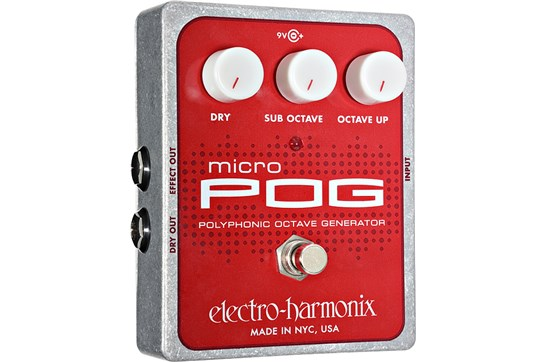 Electro-Harmonix Micro POG Polyphonic Octave Generator Guitar Effects Pedal