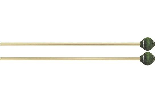 Mike Balter Pro Vibe Series Rattan Mallets 22 Green Cord Medium Hard