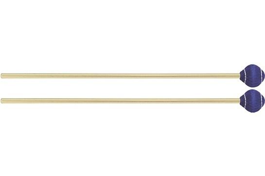 Mike Balter Pro Vibe Series Rattan Mallets 23 Blue Cord Medium