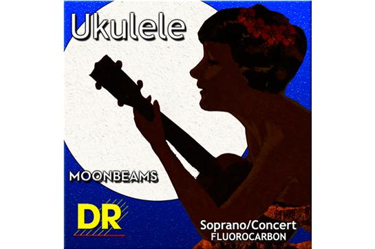 DR Strings Clear Fluorocarbon Soprano/Concert Ukulele Strings