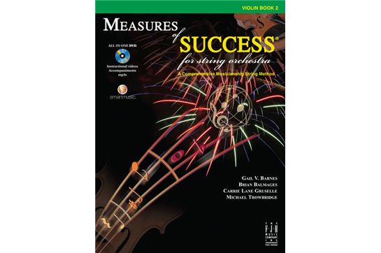 Measures of Success - Violin Book 2