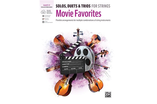Solos, Duets & Trios for Strings: Movie Favorites - Cello