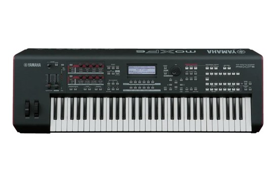 Yamaha MOXF6 61-key Workstation - Controller - Interface