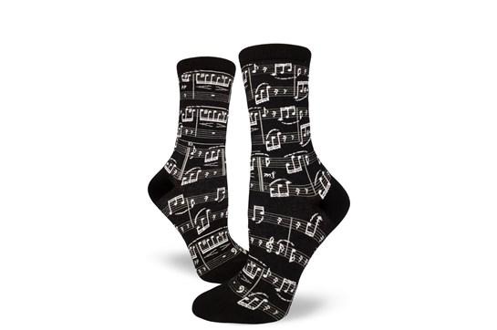Ladies Sheet Music Socks