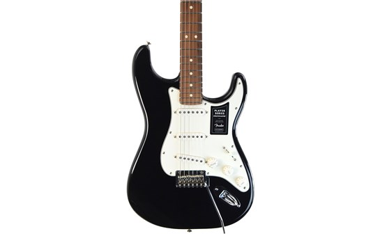 Fender Player Series Stratocaster Black - Pau Ferro fretboard