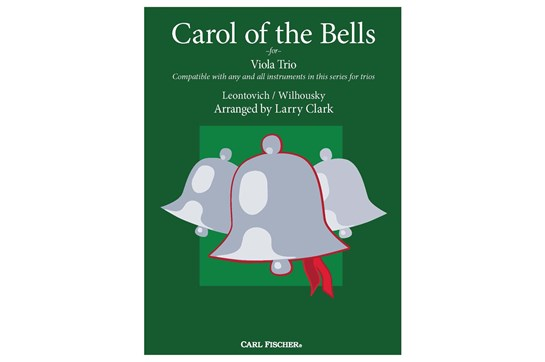 Carol Of the Bells Trio (Viola)