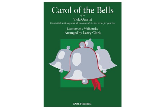 Carol Of the Bells Quartet (Viola)