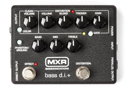MXR M80 Bass Distortion+ Pedal