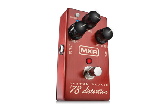 MXR M78 Custom Badass '78 Distortion Guitar Effects Pedal