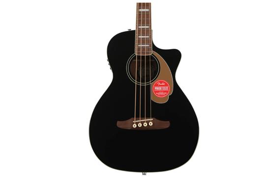 Fender Acoustic Kingman V2 Bass (Walnut Black)
