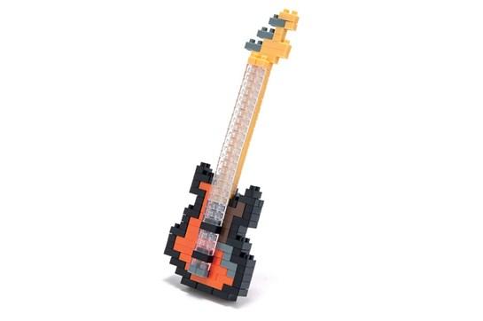 nanoblock Bass Guitar