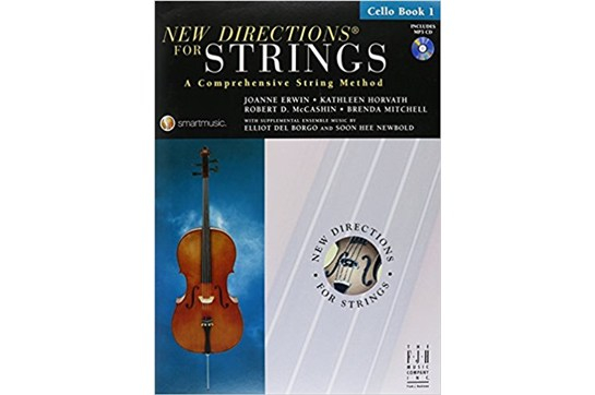 New Directions for Strings - Cello Book 1