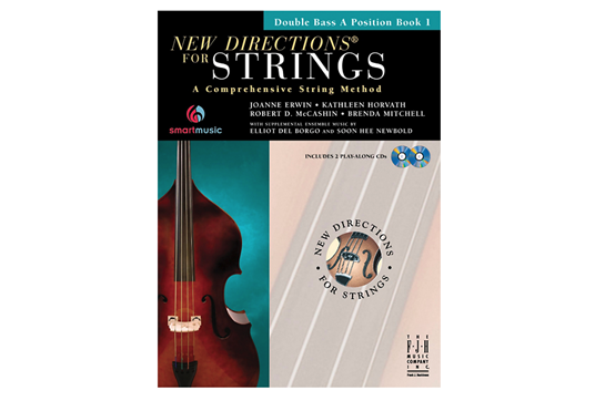 New Directions for Strings - Bass A Position Book 1