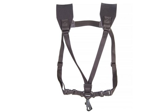 Neotech Sax Soft Junior Black Swivel Hook Harness