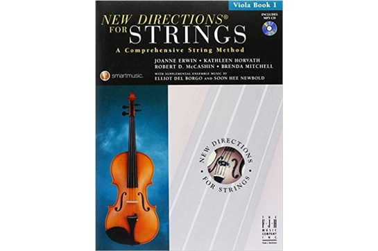 New Directions for Strings - Viola Book 1